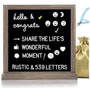 Other - NEW 12 x 12 Felt Letter Board With 539 Letters